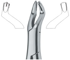 Extracting Forceps American Pattern